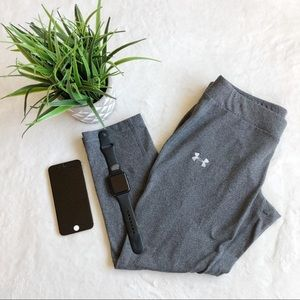 COPY - Under Armour Heather Gray Cropped Leggings